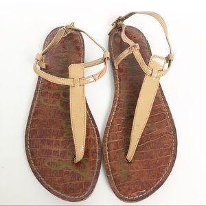 Sam Edelman Gigi Thong Sandals in Nude Sz 8.5